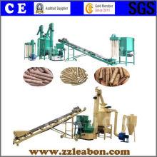 Ligne de production de pastilles de bois de sciure de biomasse CE