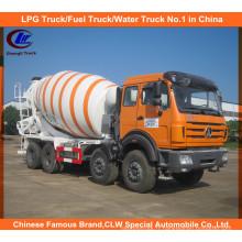 Camion de mélangeur diesel du nord 14cbm diesel résistant Angola