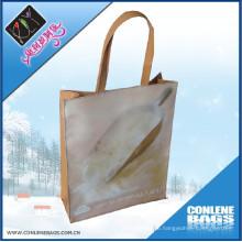 PVC-Griff-Einkaufstasche (KLY-PVC-0001B)