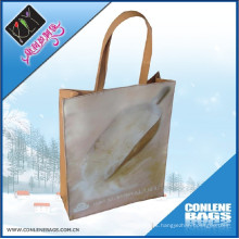 Bolso de compras de la manija del PVC (KLY-PVC-0001B)