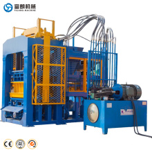 Automatic building cement form design hollow brick making machine