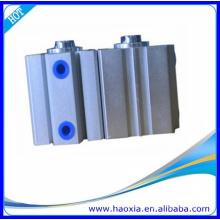 Cilindro compacto SDA de dupla ação com íman