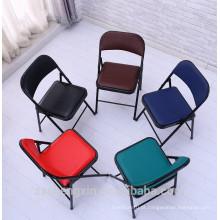 Cadeira de dobramento de quadro metálico