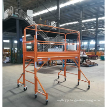 Multi-function scaffold mobile scaffoldset and accessories power coat