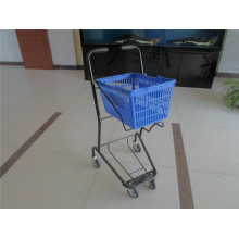 Shopping Basket Trolley with Good Quality