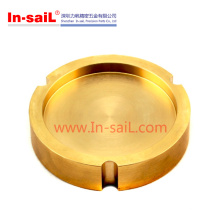 Modificado de cobre amarillo modificado para requisitos particulares / piezas de torneado Fabricante China