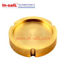 Bronze personalizado torneado / transformando peças fabricante China