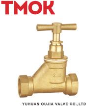 conjunto de vapor desenho escondido latão válvula de parada