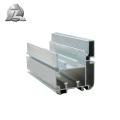 catalogue de sections transversales extrudées en aluminium jindal durable de longue durée