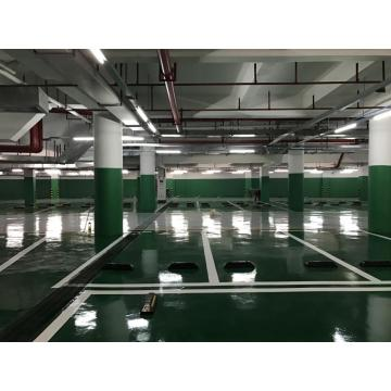 Garage high strength epoxy flat topcoat coating