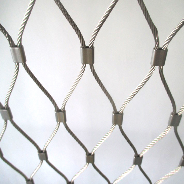 flexibel tainless steel rope net
