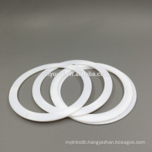 white PTFE Seals Gasket oil resistant high temperature viton flat washer o rings