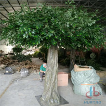 Green Artificial Banyan Tree