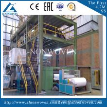 China the biggest AL-4200mm SS beam nonwoven fabric making machine