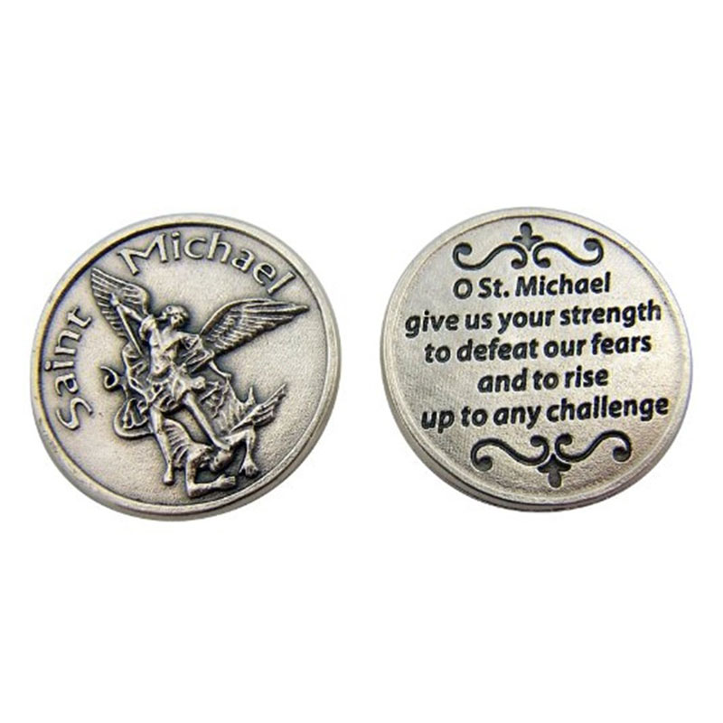 Military Saint Michael Coins