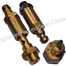 Pièces de vanne industrielles avec usinage CNC Traitement