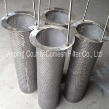 Stainless Steel Perforated Metal Mesh Filter Tubes