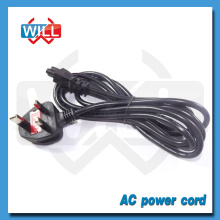 UK Power Cord with 250V 3A Fuse