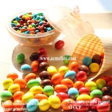 Heißer Verkauf populärste Schokolade überzogene Erdnuss-preiswerte Snack-Süßigkeit