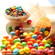 hot sale most popular chocolate coated peanut cheap snack candy