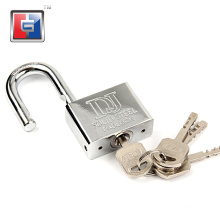 37mm Locker theftproof iron tiny u-type padlock safe lock anti acid u-shaped padlocks with four keys