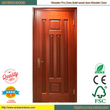 Round Wood Door Sapele Wood Door Simple Wood Door