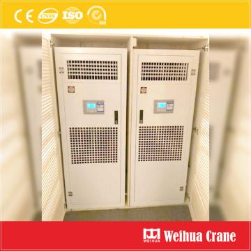 Ar condicionado elétrico da sala de controle