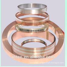 Ag AgNi AgCdO Cu C2680 C2600 composite material strip