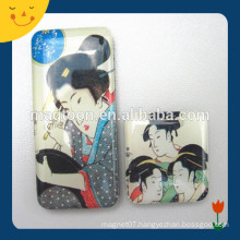OEM high quality country souvenir Japan fridge magnet