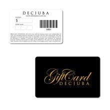 30 Mil Credit Card Size Plastic Card