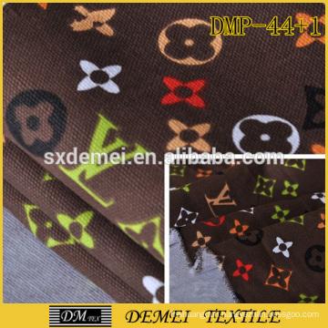 name brand wholesale stock fabric textile poly cotton fabric print sofa fabric