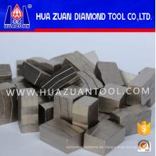 Dimond Segment zum Schweißen auf 1800mm Klingen (HZDS02046)