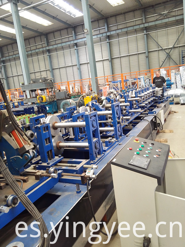 C/Z purlin roll forming machine