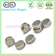 Ni раунд форму n52 10 мм, 5 мм неодимовый магнит