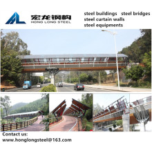Footbridge Steel Structure for Huangqishan