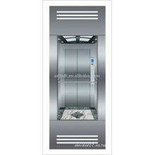 Ascensor panorámico con sala de máquinas menos de la tecnología japonesa