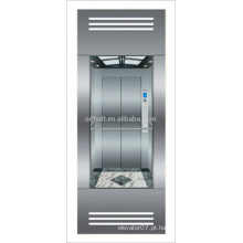 Elevador panorâmico com sala de máquinas menos de tecnologia japonesa