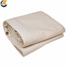 5 'x 7'White Canvas Tarp  Cotton