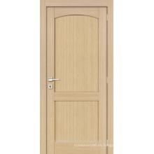 Roble interior inacabado arco diseño puerta madera panel 2