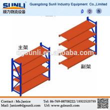 Dongguan fabrication stockage légers aciérie Rack