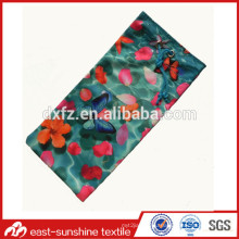 Custom Digital Printed Microfiber Case,Microfiber Drawstring Pouch Bags