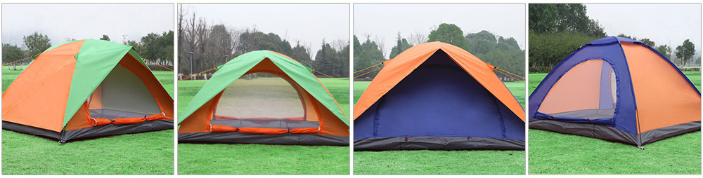 Different tent avaialbe