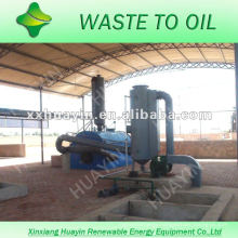 waste household plastics disposal to fuel oil machine
