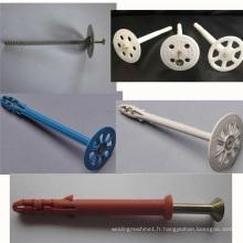 machine en plastique de moulage par injection d'ongle de conservation de la chaleur