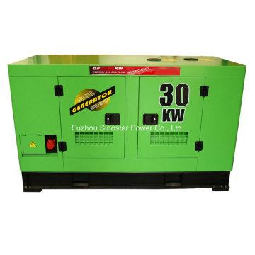 20kw Isuzu Soundproof Diesel Generator with Water Cooled Engine