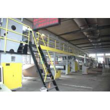 Wj-150-2000 Ligne de production de carton ondulé 5 couches