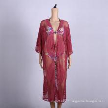 vêtements de plage caftans cover up jupe robe portefeuille de plage