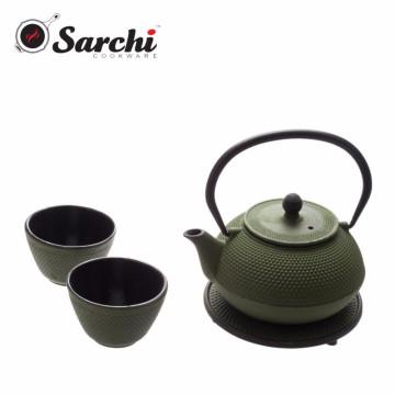 Нержавеющая сталь Infuser Чугунный чайник