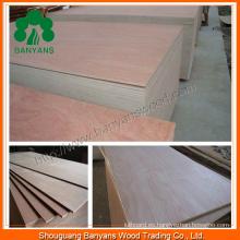 Mejor precio de madera contrachapada / madera contrachapada impermeable / hoja de madera contrachapada comercial