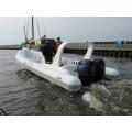 Barco inflável rígido Rib 730B com motor duplo - muito quente